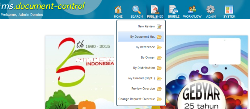 Browse Document Control
