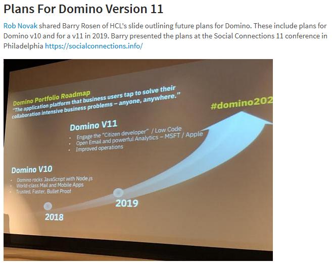 IBM Domino R11